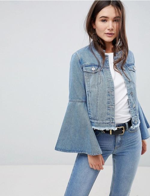 068222f411f Модный деним  джинсовые куртки весна-лето 2018